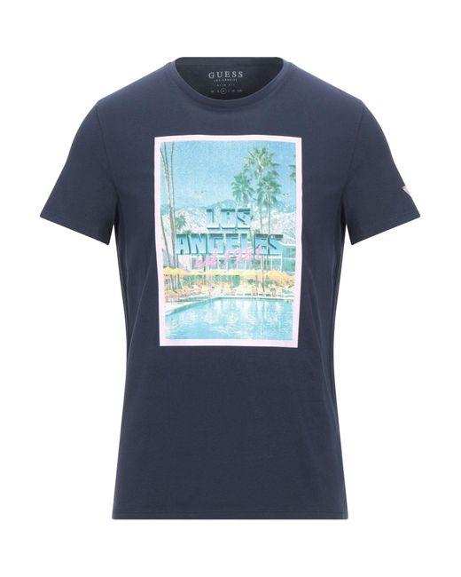 Guess Blue T-shirt for men