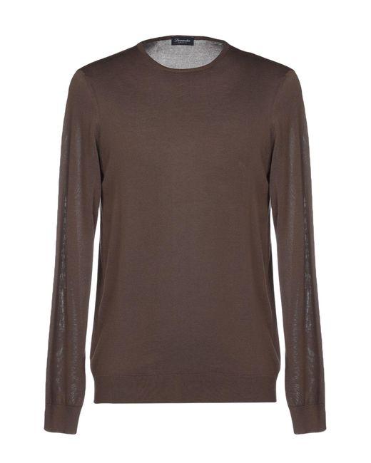 Pullover Drumohr de hombre de color Brown