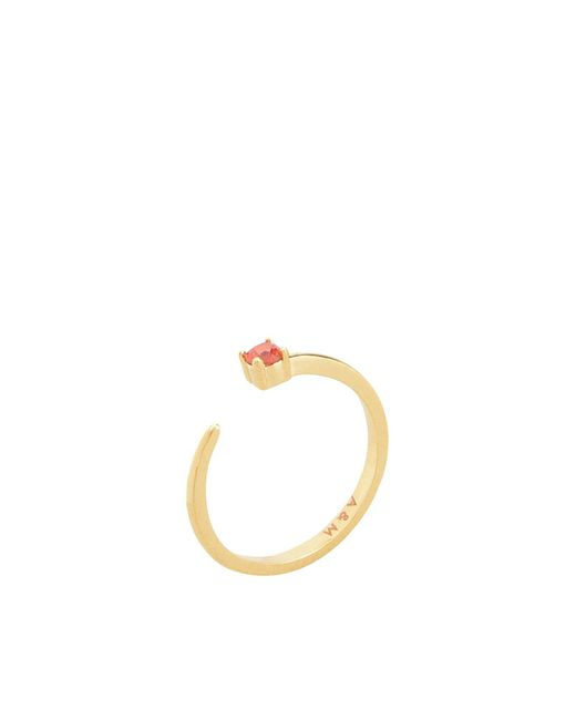 Astrid & Miyu - Metallic Ring - Lyst