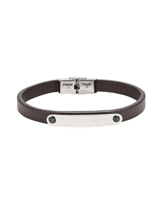 Pierre Darre' - Brown Bracelets for Men - Lyst