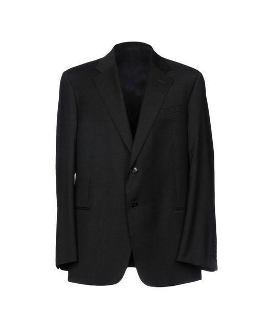 Armani - Black Blazer for Men - Lyst