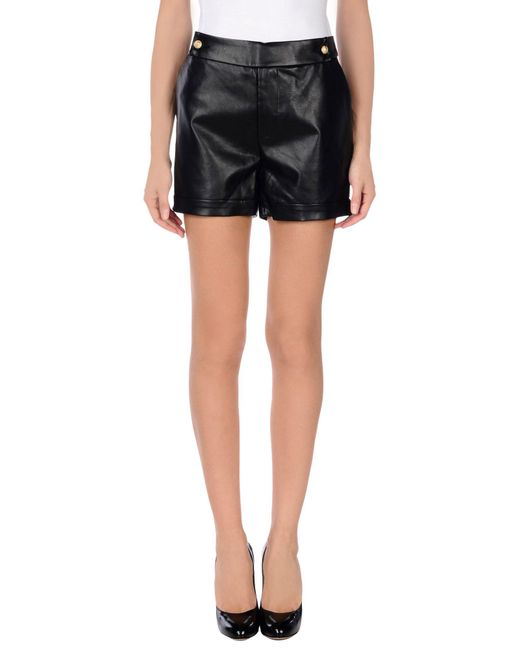 SuperTrash - Black Shorts - Lyst