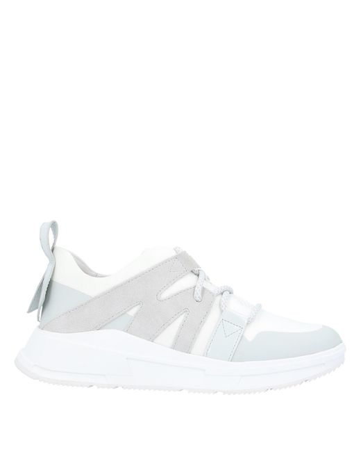 Fitflop White Low Sneakers & Tennisschuhe