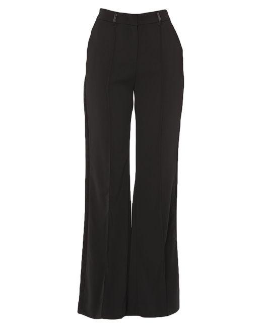 Manila Grace Black Casual Trouser