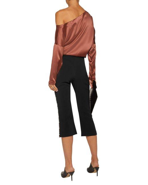Pantalone capri di Jonathan Simkhai in Black