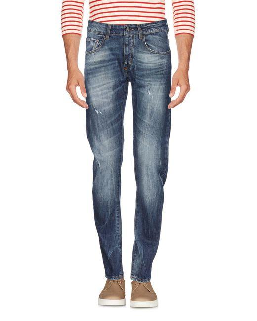 Pantalon en jean Frankie Morello pour homme en coloris Blue