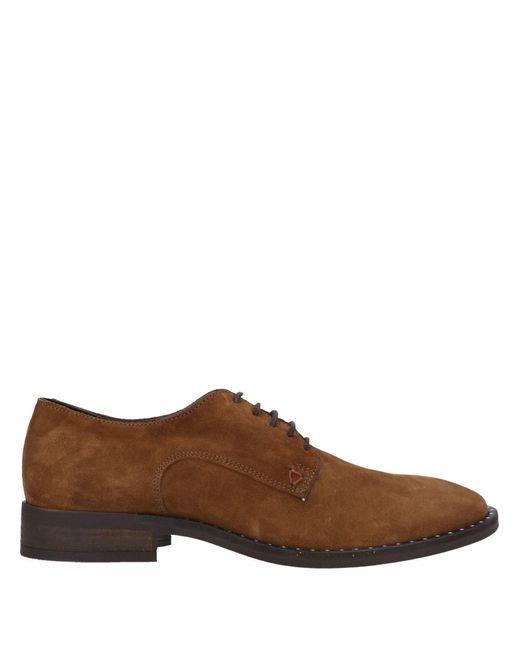 Zapatos de cordones Guess de hombre de color Brown