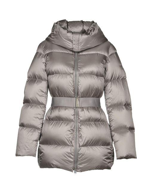 Add - Gray Down Jacket - Lyst