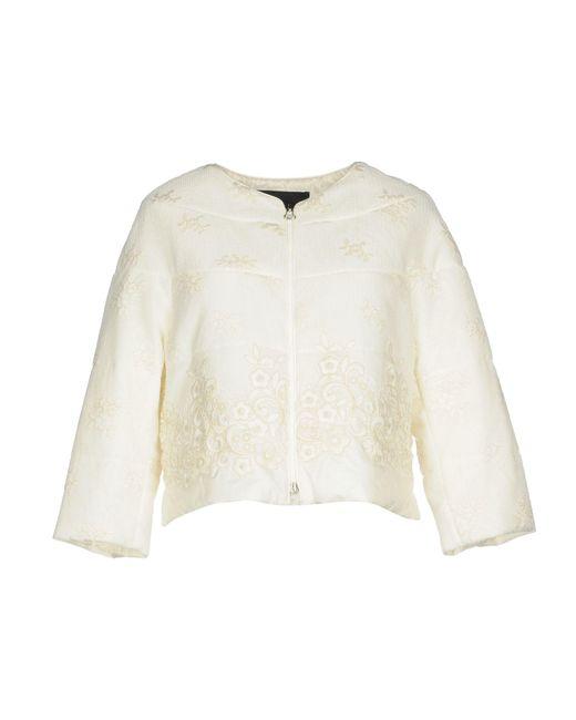 Ermanno Scervino - White Jackets - Lyst