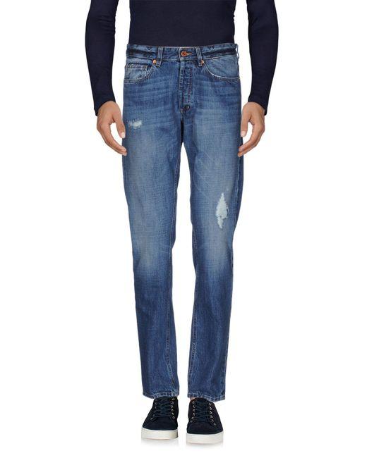 Mauro Grifoni - Blue Denim Pants for Men - Lyst