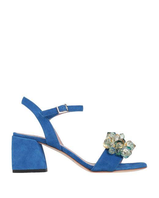 Gianna Meliani Sandalias de mujer de color azul