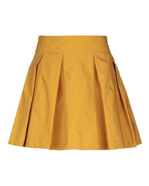 ViCOLO Multicolor Mini Skirt