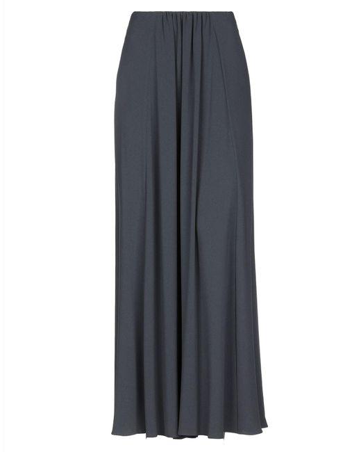 Falda larga Giorgio Armani de color Gray