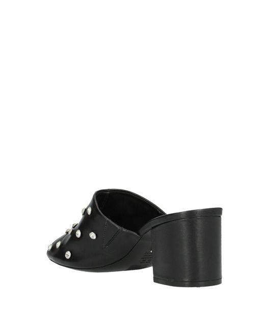 Sandales Schutz en coloris Black