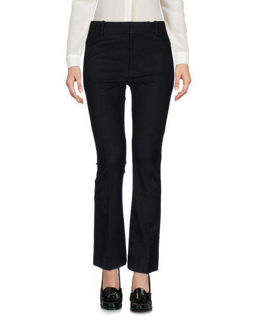 10 Crosby Derek Lam Pantalones de mujer de color negro