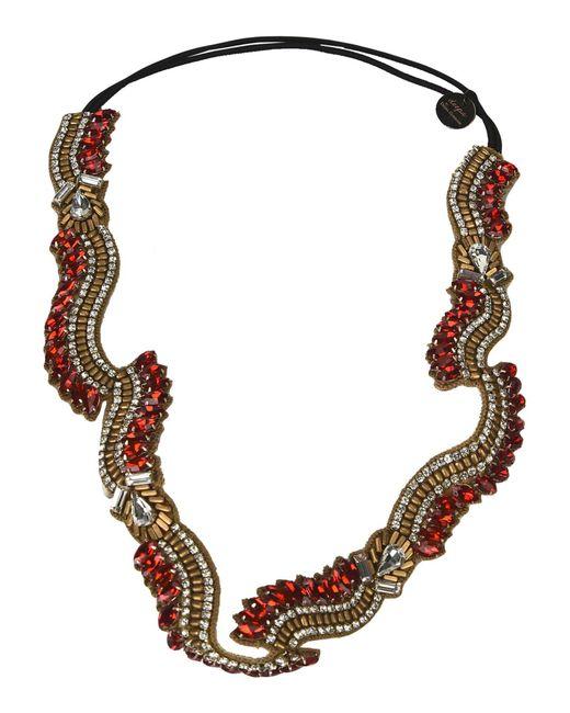 Deepa Gurnani - Red Hair Accessories - Lyst