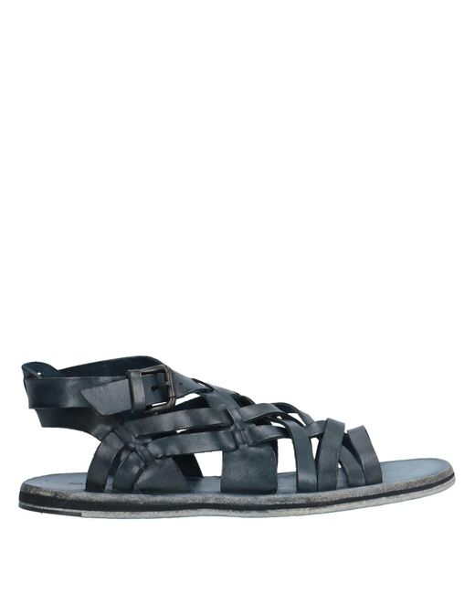 Emporio Armani Blue Sandals for men