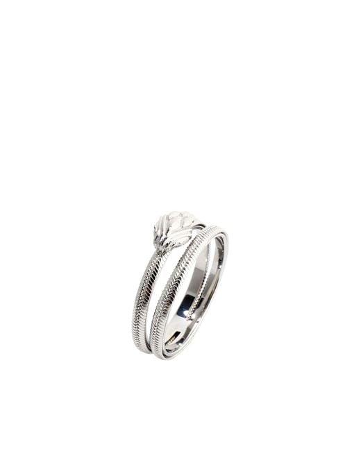 Just Cavalli Metallic Ring