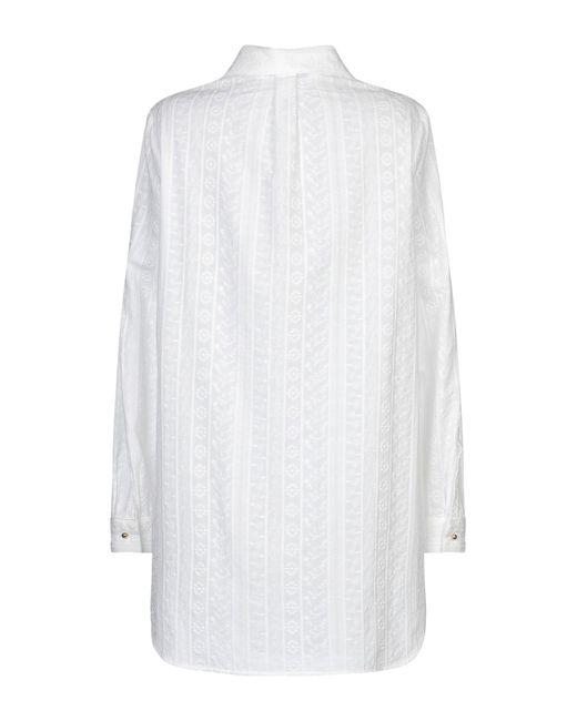Blusa Blumarine de color White