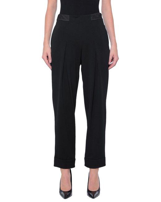 Emporio Armani Black Casual Trouser