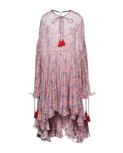 Robe courte Philosophy Di Lorenzo Serafini en coloris Pink