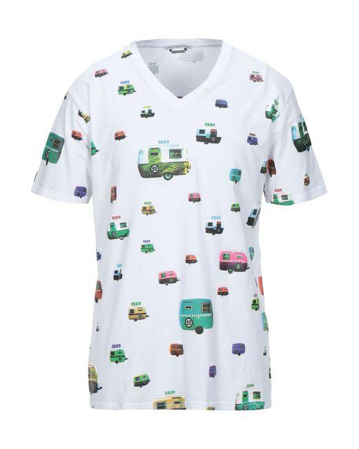 T-shirt di Grey Daniele Alessandrini in White da Uomo