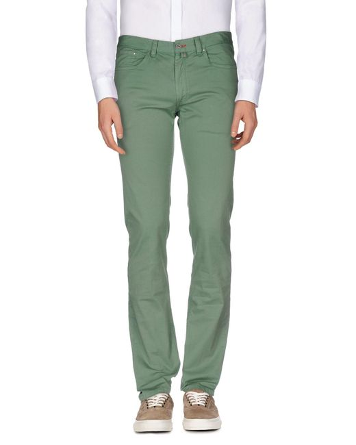 L.b.m. 1911 - Green Casual Trouser for Men - Lyst