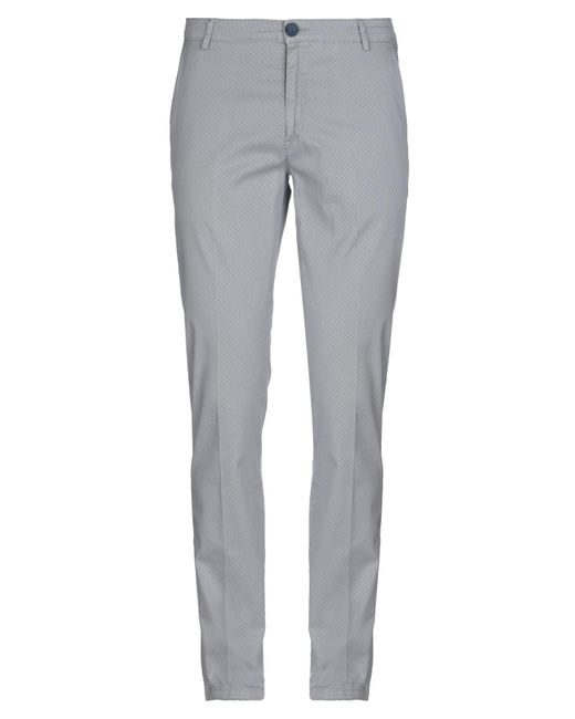 Yan Simmon Gray Casual Pants for men