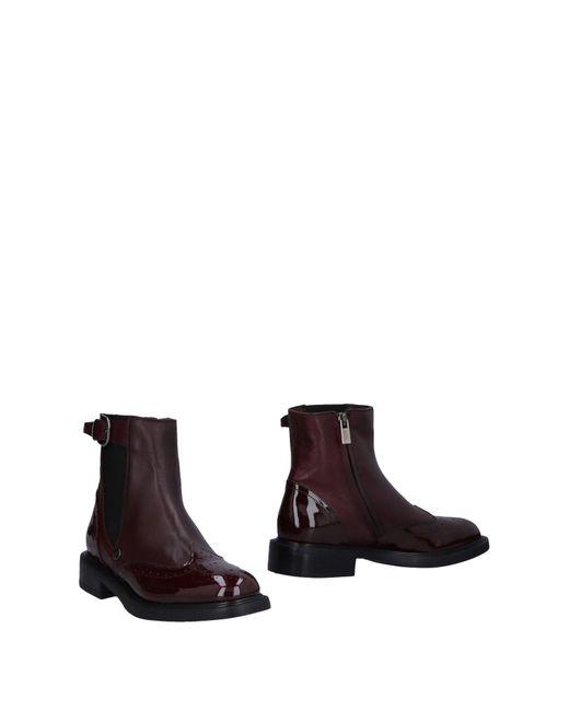 Loretta Pettinari - Brown Ankle Boots - Lyst