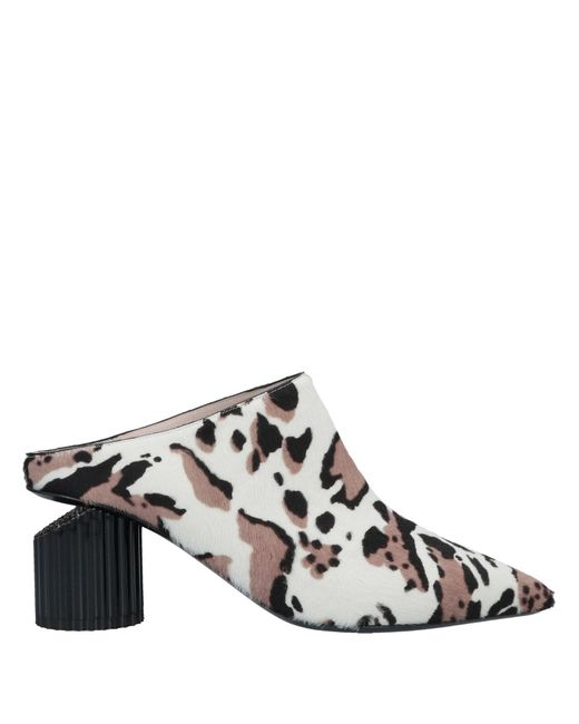 Roberto Cavalli Natural Mules & Clogs
