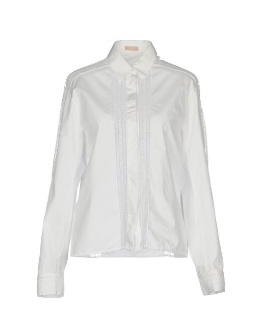 Alaïa - White Shirt - Lyst