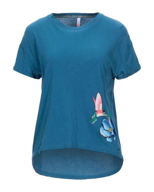 T-shirt di Sun 68 in Blue