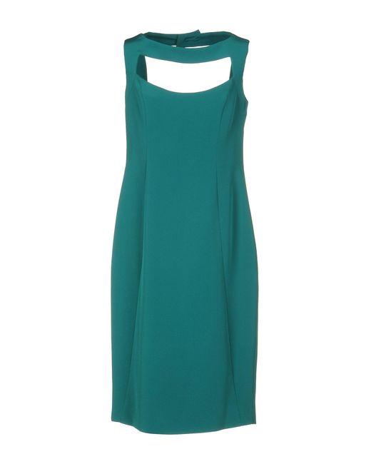 Botondi Milano   Green Knee-length Dress   Lyst