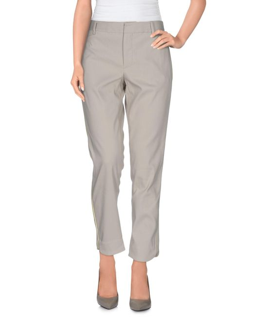 Marc By Marc Jacobs - Gray Casual Trouser - Lyst