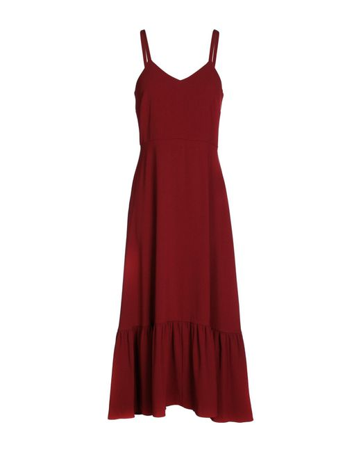 Co. - Red 3/4 Length Dress - Lyst