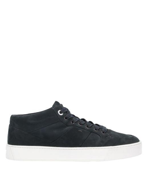 Santoni Black High-tops & Sneakers for men