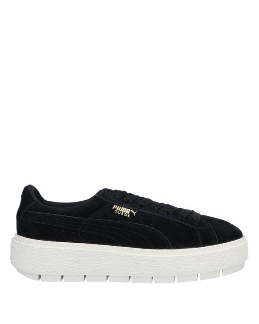 PUMA Black Low-tops & Sneakers