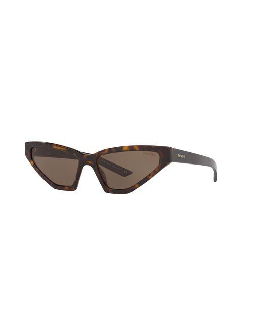 Gafas de sol Prada de color Brown