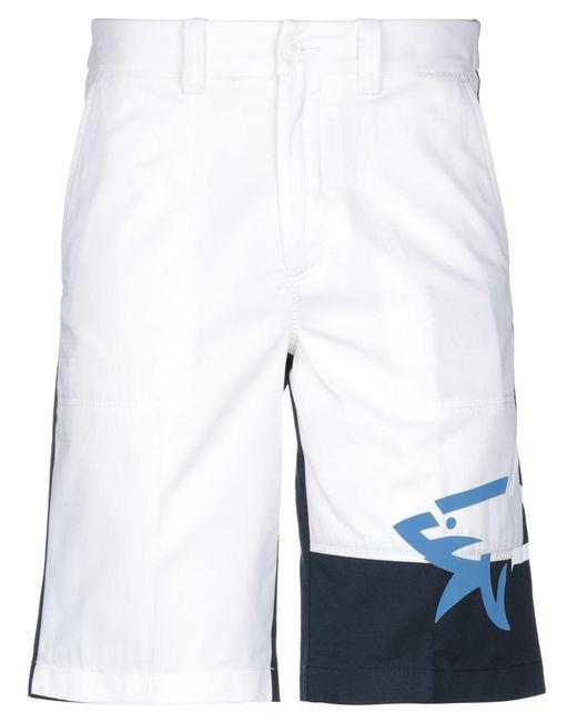 Bermuda di Paul & Shark in White da Uomo