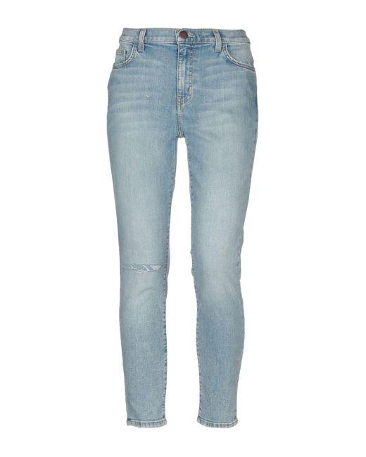 Pantalon en jean Current/Elliott en coloris Blue