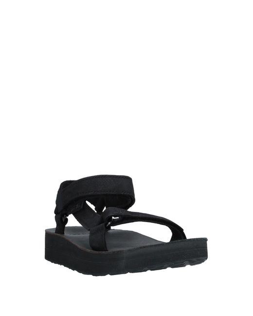 Teva Women's Black Sandals