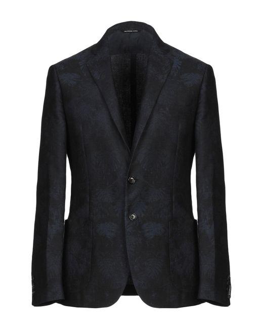 Tonello Black Suit Jacket for men