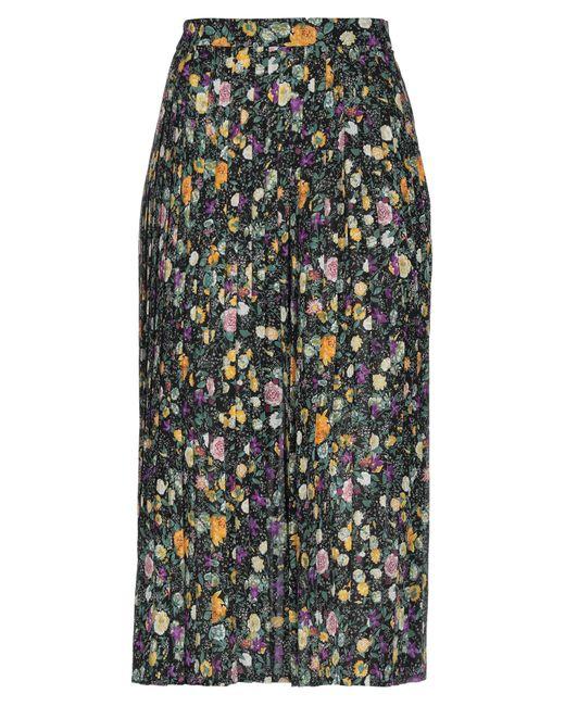 Céline Black 3/4 Length Skirt