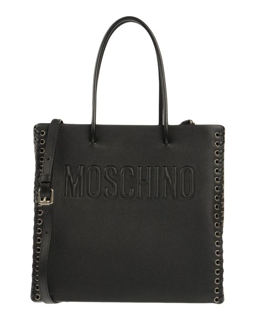 Moschino - Black Handbags - Lyst