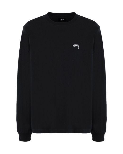 Stussy Black T-shirt for men