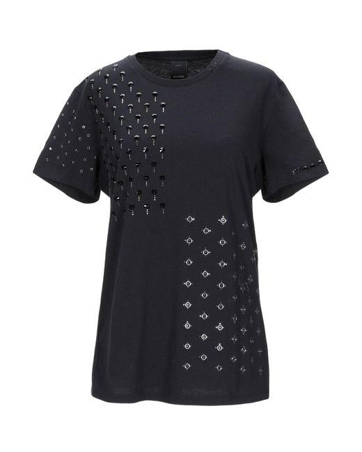 T-shirt di Pinko in Black