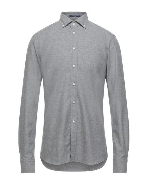 Camisa B.D. Baggies de hombre de color Gray