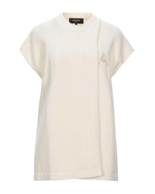Pullover di Rochas in White