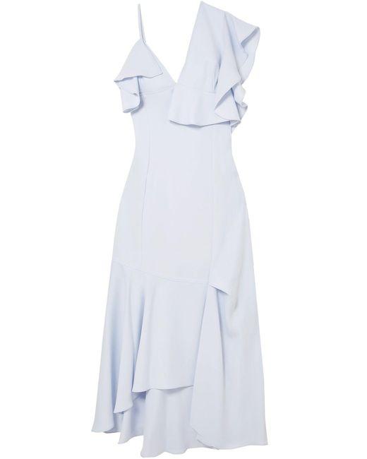 ADEAM Blue Long Dress