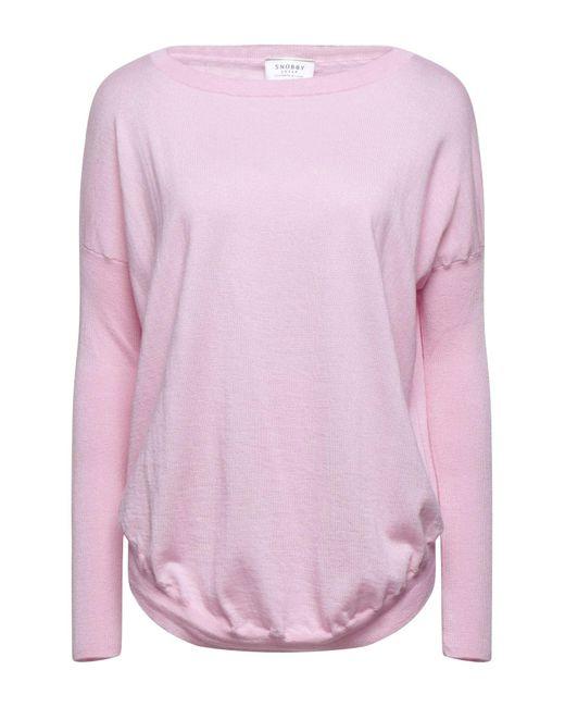 Pullover Snobby Sheep en coloris Pink